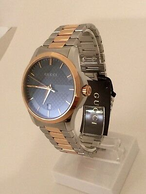 0ae1db2364e 100% Authentic New Gucci Watch Ya126446 With Box And Booklet 126Md  Collection