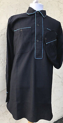 US Army M1881 Blue Wool Infantry Shirt Size 44