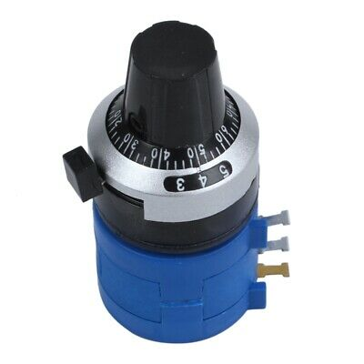 with Turn Counting Dial 100K Ohm 3590S-2-104L Rotary Potentiometer Pot 10 T X5W8