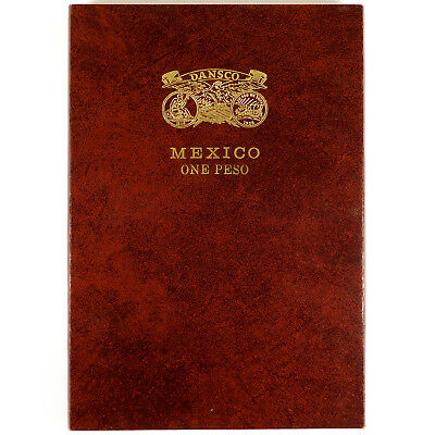 Mexico One Peso Type Set Collection - Dansco Board Album
