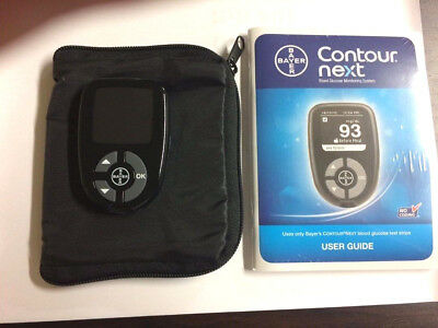 Bayer Contour Next  Blood Glucose Meter Plus Carring Case