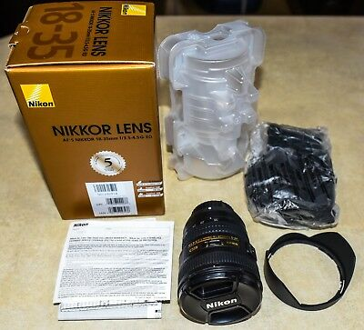 Nikon NIKKOR 18-35mm f/3.5-4.5 FX AS G, US Model, MINT condition