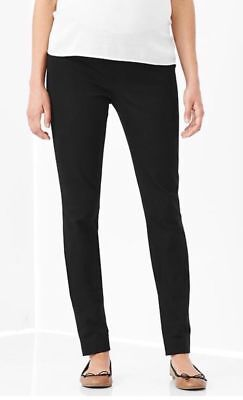 Nwt Gap Black Maternity Really Skinny Two-Way Stretch Womens Pants Size 8A $69