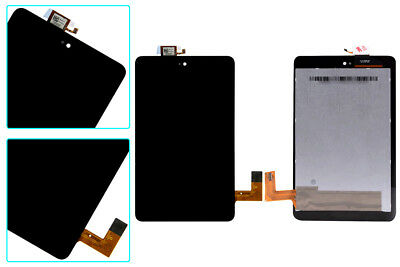 Black Touch Screen Digitizer+LCD Display Replacement for Dell Venue 7 3730 T01C