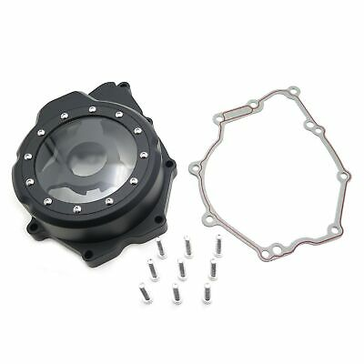 Engine Stator Cover See Through For Yamaha YZF-R6 2006-2014 Black Left