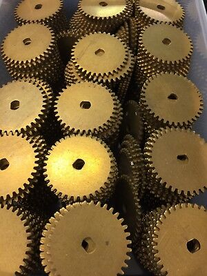 Boston Gear  2035 Solid Brass Spur Gear For Clocks Robot Hobby Rc Model Railroad