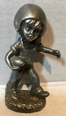* Pewter Football Player*