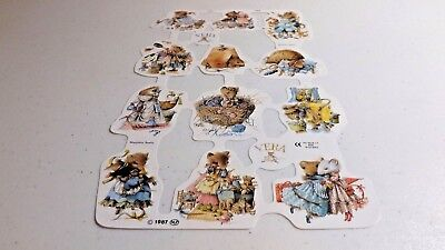 VINTAGE VERA THE MOUSE/VERA DE MUIS 1987 Embossed Decorated Sheets #1763