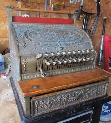 National Cash Register Patented Oct 27, 1896 Troy Laundry Co J.H Dennis Columbus