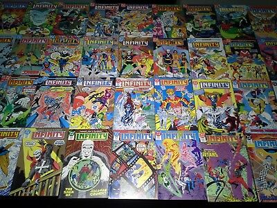 Infinity Inc 1-53 Annual 1 2 Special 1 NM/M 9.8 High Grade 1984