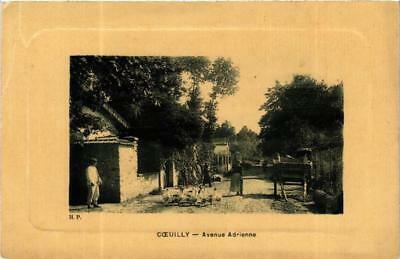 CPA COEUILLY Avenue Adrienne (600046)