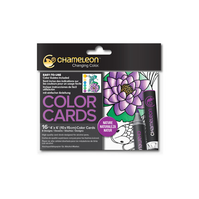 Chameleon Color Cards - Nature - With Shading & Colouring Guides