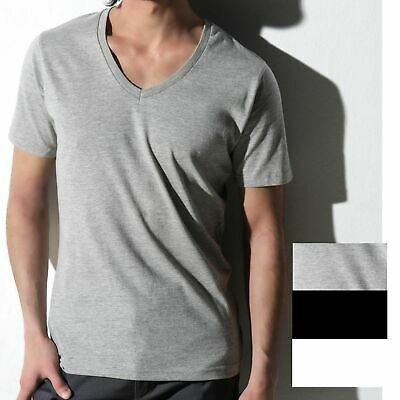 5er Pack Herren V-Neck T-Shirt nakedshirt Baumwolle S bis 3XL ÖkoTex Anthony