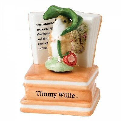 Beatrix Potter Peter Rabbit A26152 Timmy Willie Musical Figurine