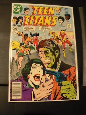 The Teen Titans # 48 harlequin great looking book