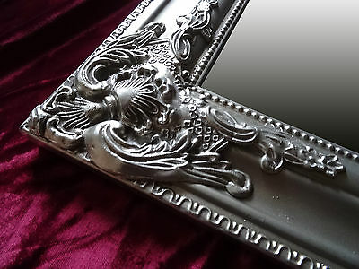 Baroque Mirror Mirror Antique Baroque Wall Mirror Silver or Gold 90x70cm