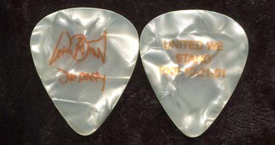 AEROSMITH 2001 Push Play Tour Guitar Pick!!! JOE PERRY custom concert stage #9