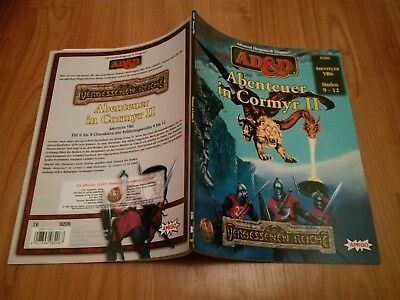 Vr6 Abenteuer In Cormyr Ii Advanced Dungeons & Dragons Ad&d Neuw. + Farbkarte