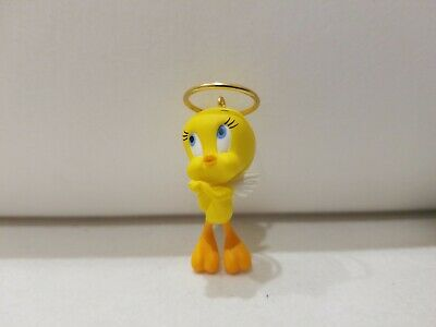 Hallmark Looney Tunes Miniature Ornament What an Angel 2010 Tweety Bird Halo NIB