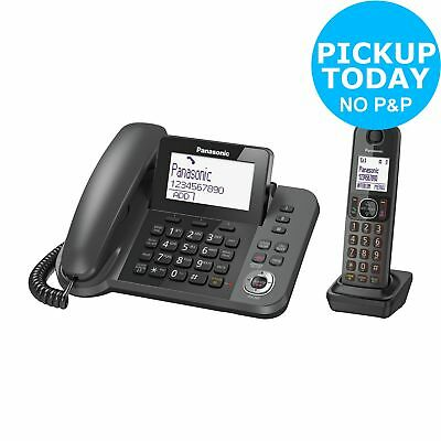 Panasonic KXTGF320 Combo Telephone with Answer M/c - Single - Argos eBay