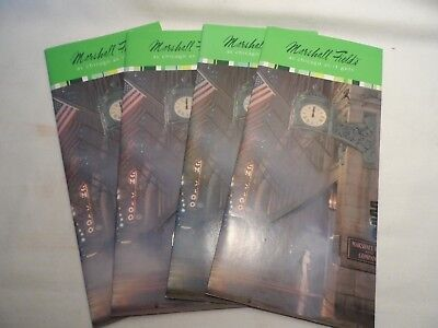 Lot of 4 Vintage Marshall Field's  Brochure  AS CHICAGO AS IT GETS