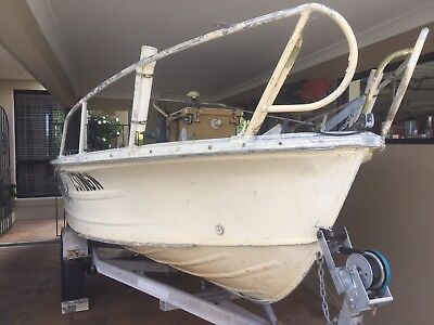 Quintrex 4.5 m Fishabout Boat with 60 HP Yamaha Motor