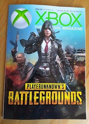 Official Xbox Magazine - PUBG - Xmas 2017 issue 158