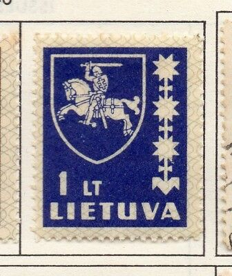 Lithuania 1937 Early Issue Fine Mint Hinged 1L. 174724