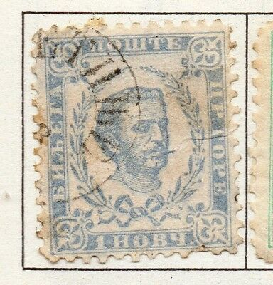 Montenegro 1874-96 Early Issue Fine Used 1n. 182227