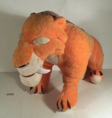 """Large 16"""" Diego Sabre Tooth Soft Toy Ice Age Movie"""