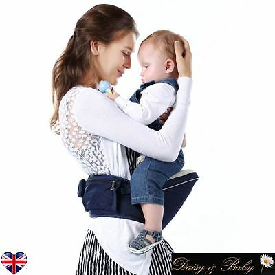 Infant Toddler Baby Safety Carrier Hipseat Hip Seat Portable walking holiday UK