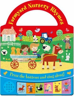 Carry Fun Sounds:Farmyard Nursery Rhymes Multi sound Book, Kids Age 0 Month+ New
