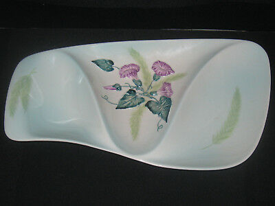 Carlton Ware Mid-Century Australian Design 3 Part Footed Serving Tray Excellent