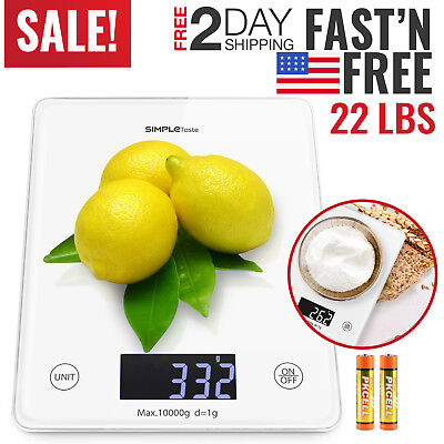 Kitchen Scale Digital Electronic Food Weighing Diet Postal Gram Scales Measuring