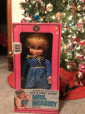Mrs Beasley By Mattel 1967 NRFB