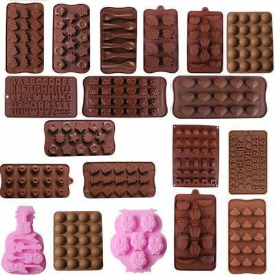 Silicone Cake Decorating Mould Candy Cookies Sugarcraft Chocolate Baking Mold