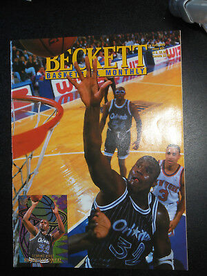Beckett Basketball Monthly: Issue #57 April 1995 - Shaquille O'Neal