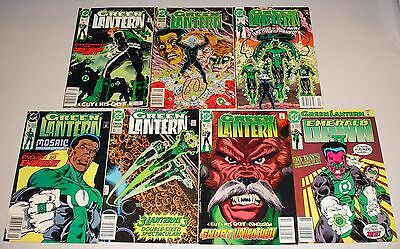 DC Comics Green Lantern Comic Book Lot 1990 1991 Emerald Dawn II Mosiac
