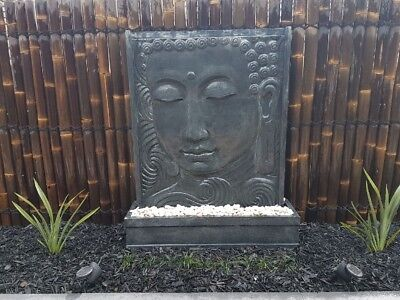 LARGE SERENE BUDDHA/BALINESE WATER FEATURES - 1.5M H x 1.2M W