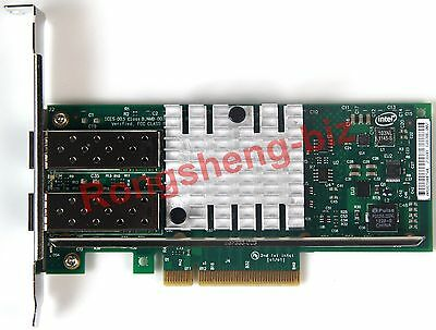 Intel X520-DA2 Chipset Ethernet Server Adapter 10G  Port PCI-E E10G42BTDA #RS01