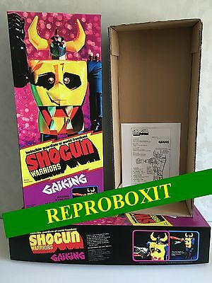 repro box gaiking goldrake goldorak grendizer shogun jumbo warrior