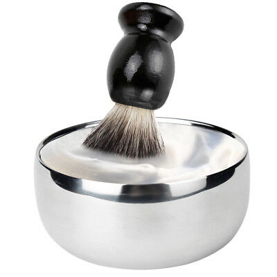 Universal portable lightweight Alloy Hair Shaving Cup Soap Bowl For Men With Lid