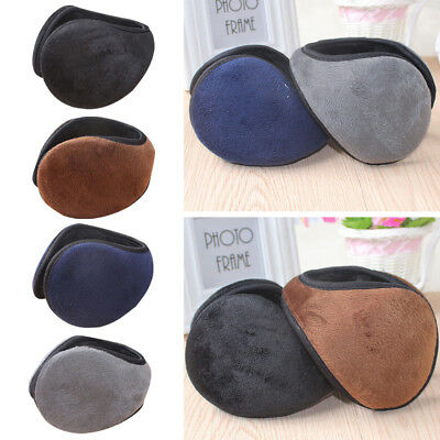 Unisex Winter Warm Soft Solid Ear Cover Gift Outdoor Headband  Xmas Gift