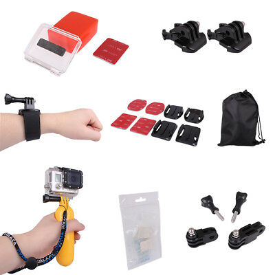 360 Rotate Wrist Strap+Adhesive+Float Set Kit for GoPro HD Hero 3+ Accessories