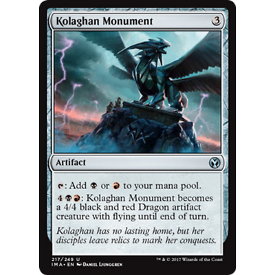 Kolaghan Monument 2x Denkmal der Kolaghan Dragons of Tarkir Magic