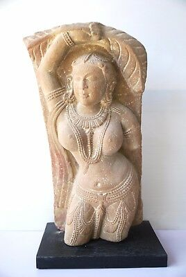 Gandhara Woman Statue Antique Old Rare 8th Century Near Eastern Art