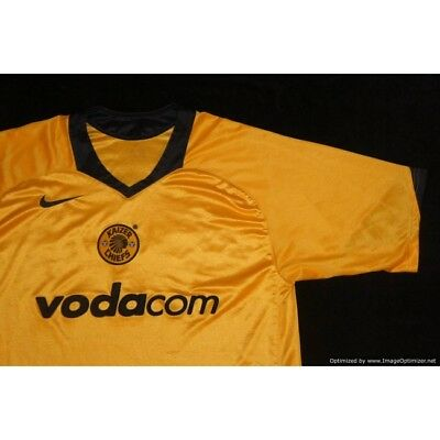 e79253d88 KAIZER CHIEFS NIKE 2004-2005 Home Football Shirt LARGE - £34.99 ...