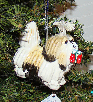 BIANCA The Shih Tzu Ornament (Lynda Corneille, Top Dog by Westland, 20268)