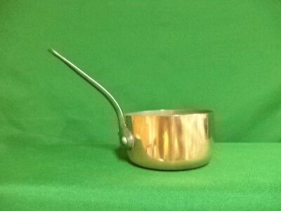 SMALL FRENCH COPPER PAN SAUCEPAN 10cm ideal for sauces or a serving pot (ref 8E)