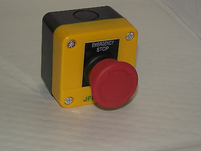 5 off Emergency stop button station, twist to release, CE,  1 N/C contact PT/A1